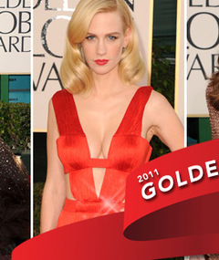 FASHION: Golden Globe's Top 10 Best Dressed!