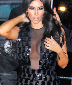FASHION: Kim Kardashian: No Bra, No Problem!