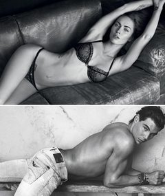 EYE CANDY: Megan Fox, Rafael Nadal Strip for Armani!