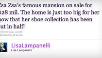Lisa Lampanelli's Zsa Zsa Joke -- Controversy Afoot?