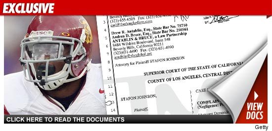 Stafon Johnson Sues USC
