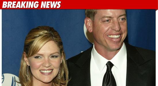 Troy Aikman Divorce
