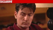 Charlie Sheen's Bender -- 'Briefcase' Full of Cocaine