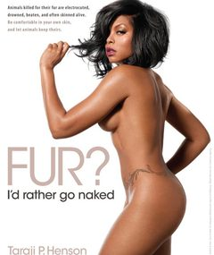 EYE CANDY: Taraji P. Henson Gets Naked for PETA