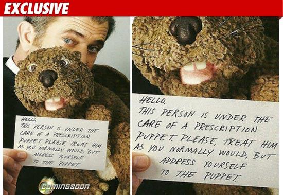 Mel Gibson Beaver Stolen