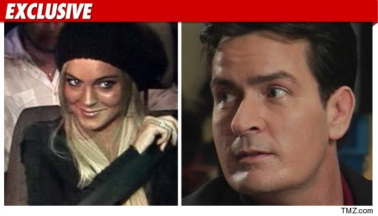 Lindsay Lohan Charlie Sheen