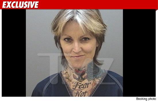Janine Lindemulder Arrested