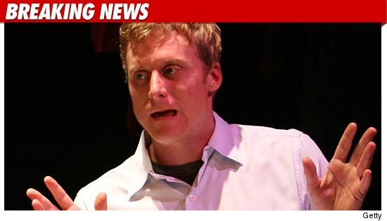Alan Tudyk Arrested