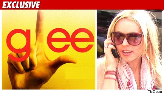Glee Apology Lindsay Lohan