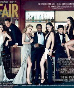FAB FOTO: Hollywood's Hottest Stars Cover Vanity Fair!