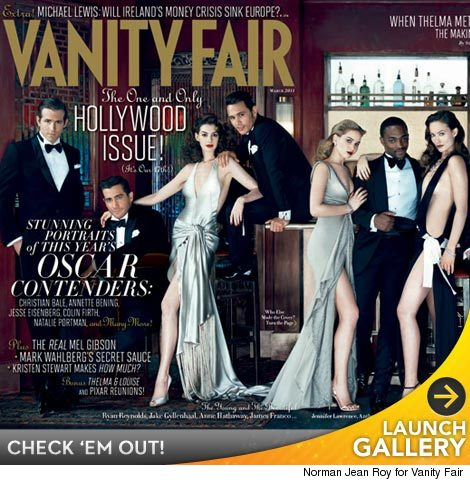 Anne Hathaway Vanity Fair Cover