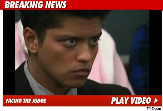 Bruno Mars Jail Time