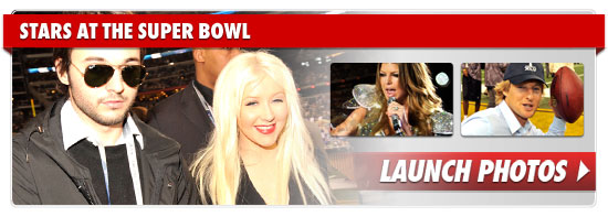 Christina Aguilera National Anthem Super Bowl Video