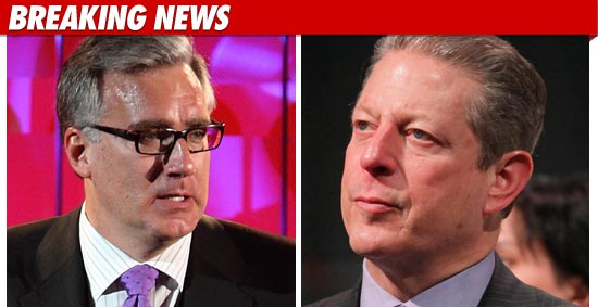 Keith Olbermann has a brand new home -- Al Gore's Current TV ... where he'll ...