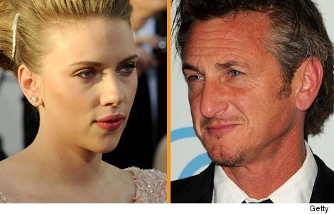 scarlett johansson and sean penn together. Scarlett Johansson and Sean