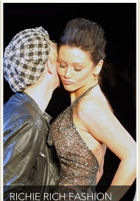 FASHION WEEK: Jwoww & Johnny Weir Hit the Catwalk!