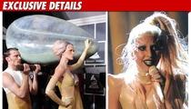 Lady Gaga's Egg -- A Hussein Original