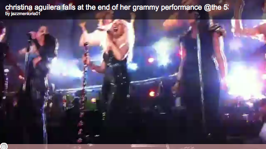 2011-0213-christina-aguilera-grammy-fall