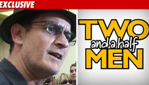 Charlie Sheen Controls the Fate of 'Men'
