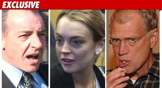 Lindsay Lohan Letterman