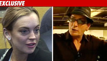 Lindsay to Charlie Sheen: Thanks for the Support!!!