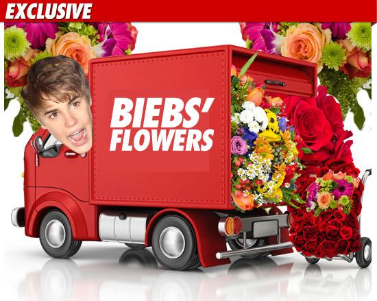 Justin Bieber Flowers