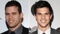 Kim K's Boyfriend -- Taylor Lautner?