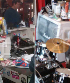 FAB FOTOS: Justin Bieber&#039;s Shoe Store Shopping Spree!