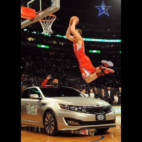 Blake Griffin's All Star Dunk!