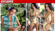 Charlie Sheen's 'Goddess' -- Marijuana Bikini Model