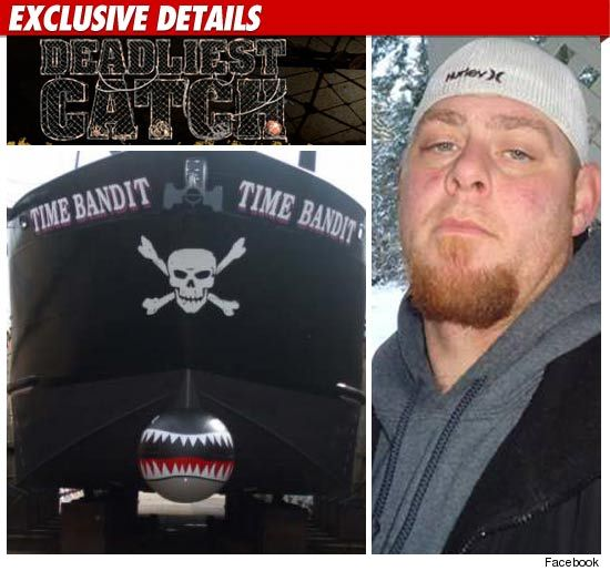 "Deadliest Catch"" crew member Justin Tennison of the F/V Time Bandit"
