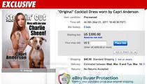 Capri Anderson -- Selling Off Charlie Sheen Hotel Dress