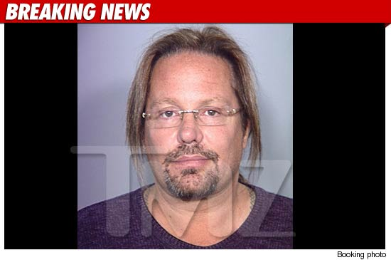 Vince Neil Mug Shot
