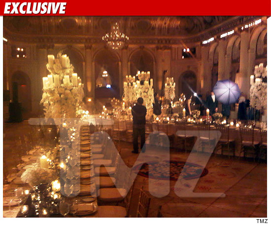 Kelsey Grammer Wedding Reception