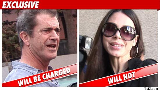 Mel Gibson Charged