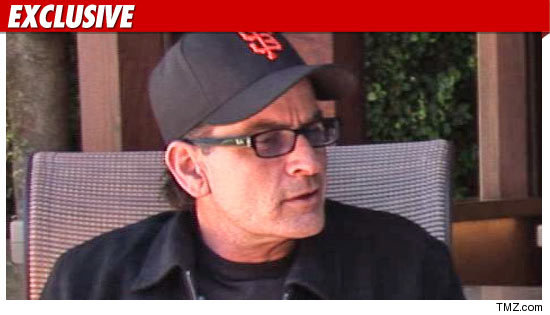 Charlie Sheen does not know where his twins were taken last night, ...
