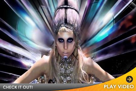 lady gaga born this way video. Lday Gaga Born This Way Video