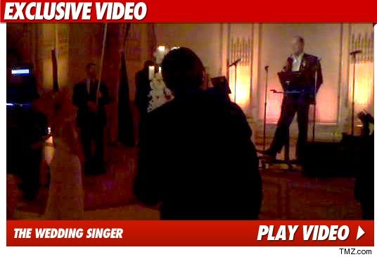 Kelsey Grammer Wedding Video Serenade