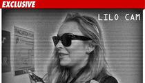 Lindsay Lohan -- Surveillance Tape Backs Her Story