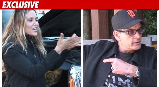 Brooke Mueller Charlie Sheen Restraining Order