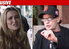 Charlie Sheen's Ex Goes to Cops Over Kids