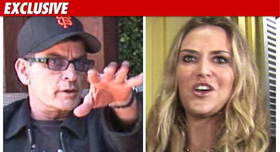 Charlie Sheen Death Threat Brooke Mueller