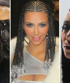 FIRST LOOK: Kim Kardashian Rocks Cornrows in New Music Video!