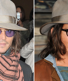 POLL: Depp Ditches the Facial Hair -- Hotter Without It?