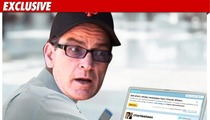 Charlie Sheen:  I Twitter for Cash!