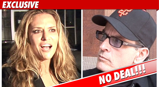 Brooke Mueller Charlie Sheen Custody