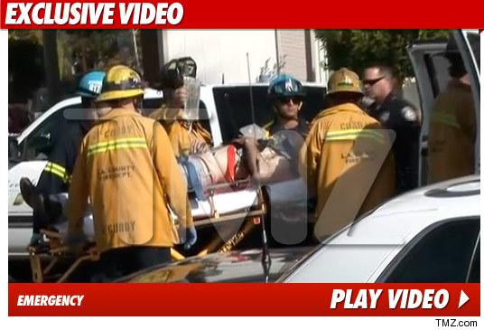 David Arquette Car Accident Video