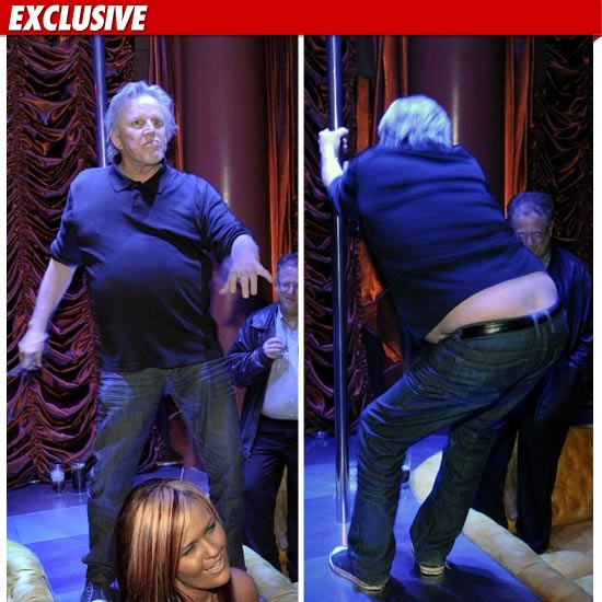 Gary Busey Pole Dancing Video