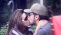 Eva Longoria & BF -- Tongue Sandwich for Lunch