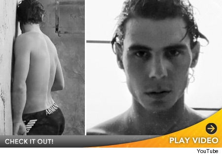 rafael nadal armani underwear. Tennis stud Rafael Nadal is